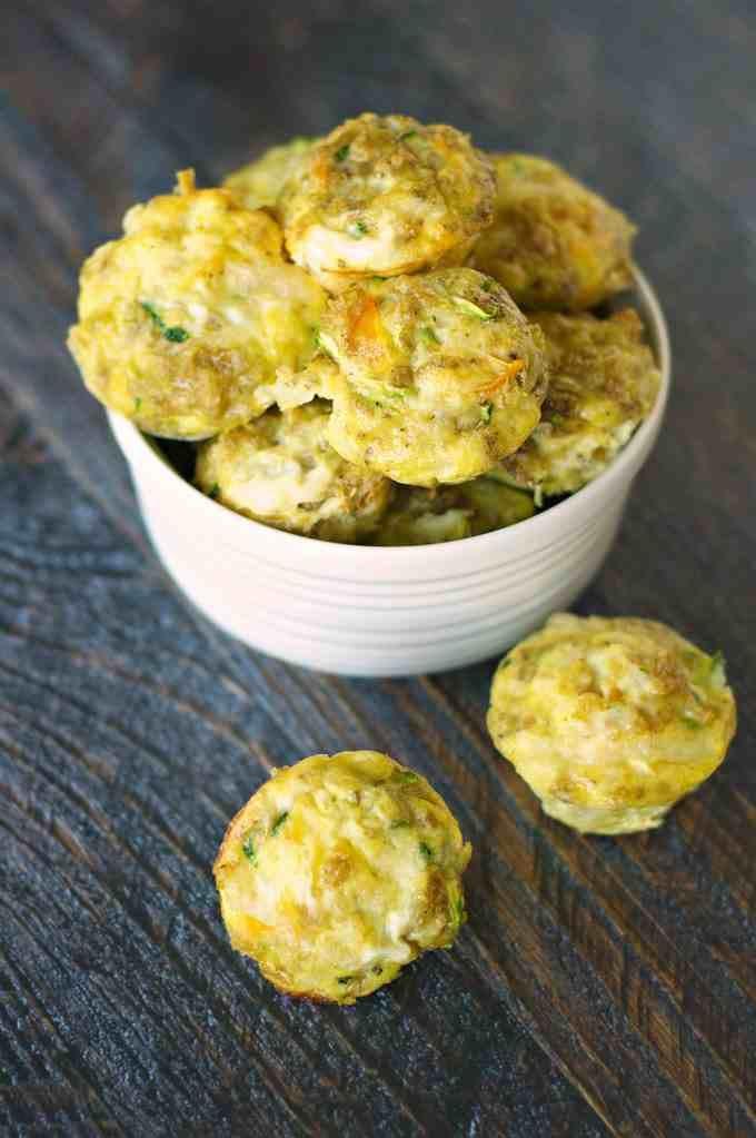 Healthy Breakfast Bites  Sneaky Veggie Quinoa Breakfast Bites Recipe