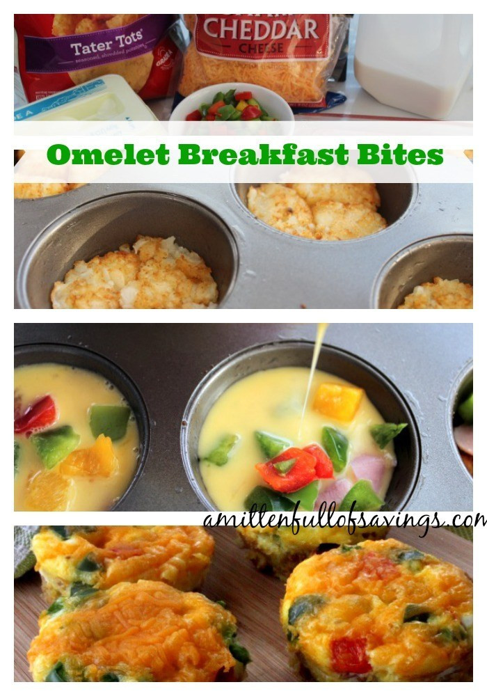 Healthy Breakfast Bites  Easy To Make Breakfast Recipes Omelet Breakfast Bites