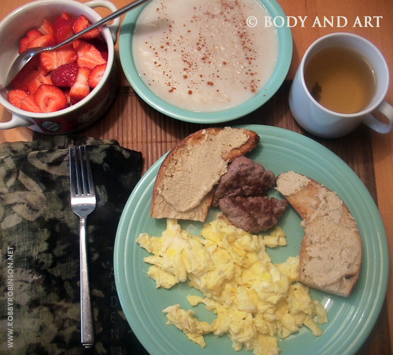 Healthy Breakfast Bodybuilding  DIARY of the BLACK PRINCE BODYBUILDING IS NOT FOR WIMPS