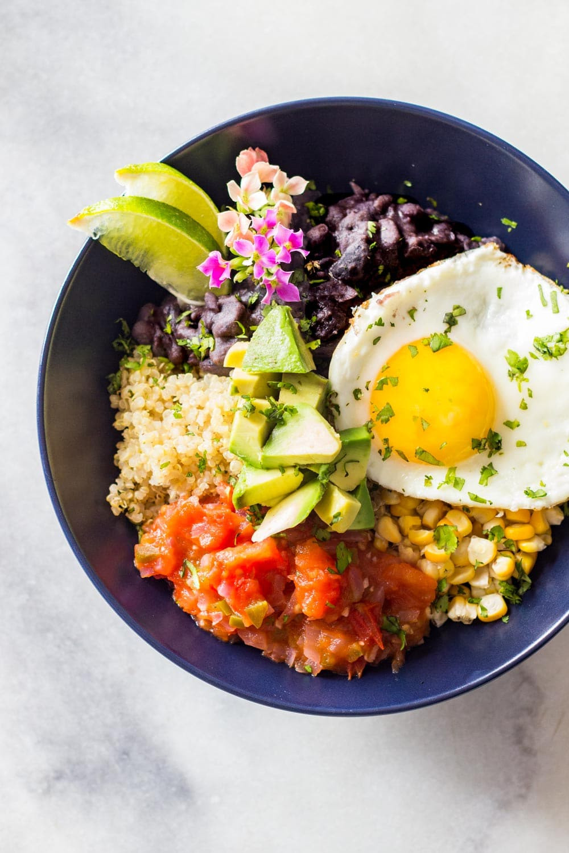Healthy Breakfast Bowl Recipe  Quinoa Breakfast Bowl Green Healthy Cooking