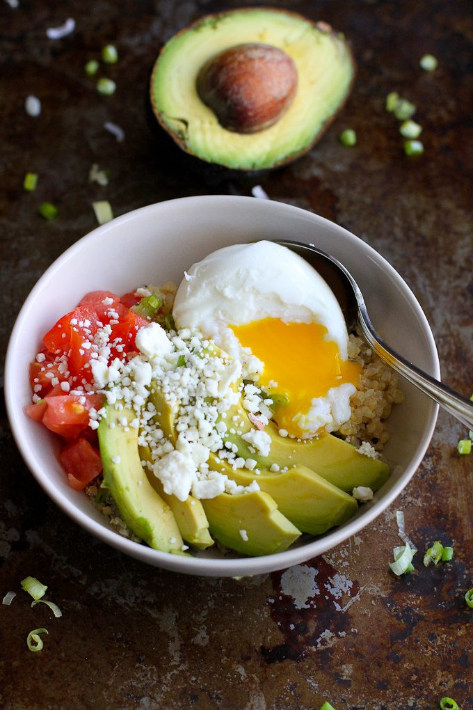 Healthy Breakfast Bowl Recipe  Quinoa Avocado Breakfast Bowl Recipe Cookin Canuck