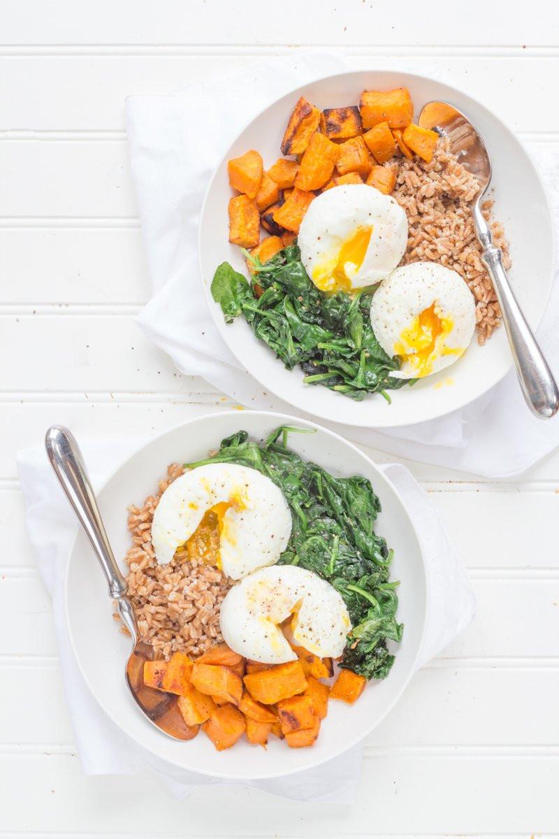 Healthy Breakfast Bowls  Curried Sweet Potato Breakfast Bowls