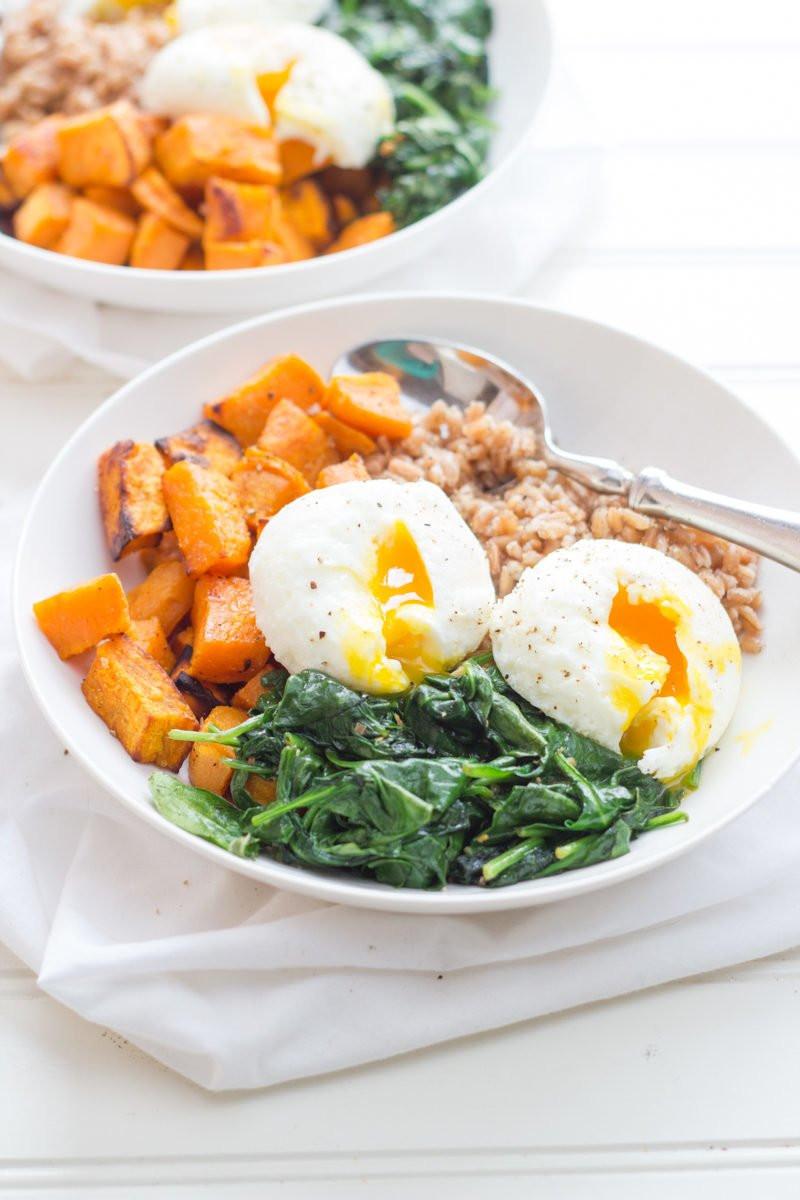 Healthy Breakfast Bowls  Curried Sweet Potato Breakfast Bowls Wholefully