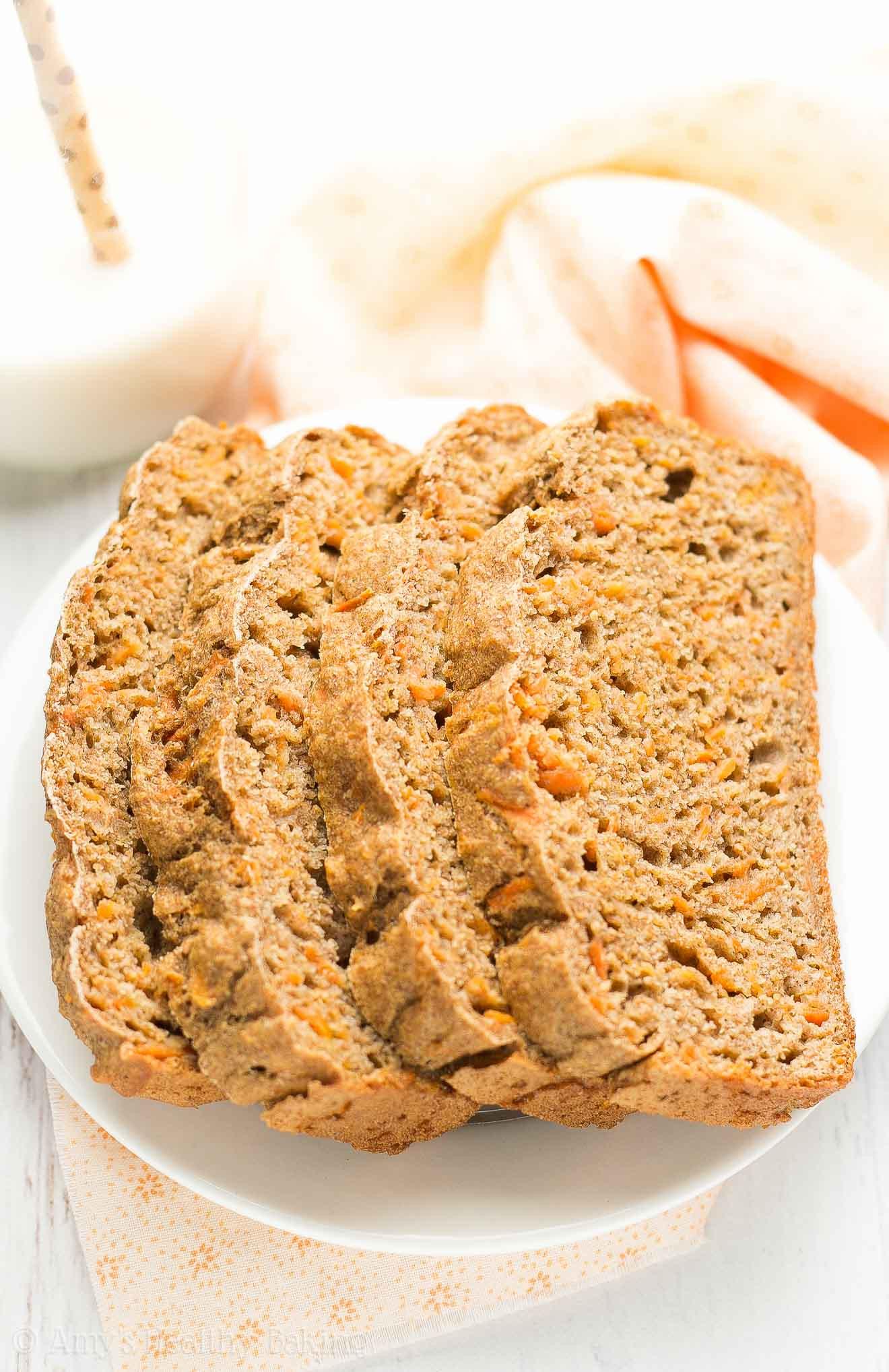 Healthy Breakfast Bread  Healthy Carrot Cake Breakfast Quick Bread