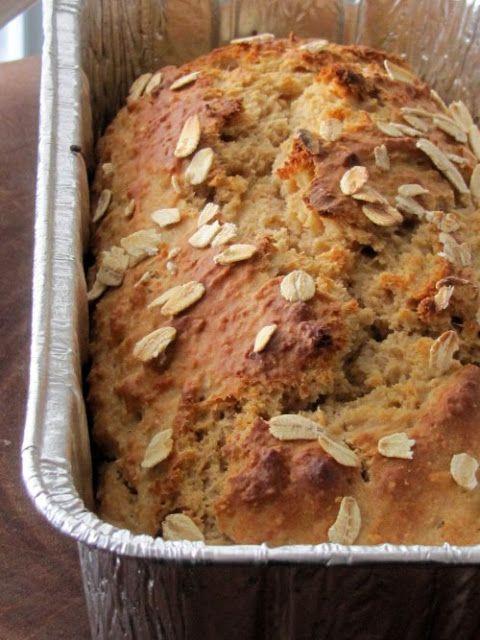 Healthy Breakfast Bread  Healthy oatmeal breakfast bread Healthy Recipes