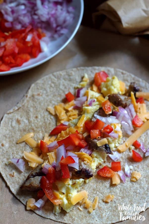 Healthy Breakfast Burrito  Healthy Breakfast Burritos