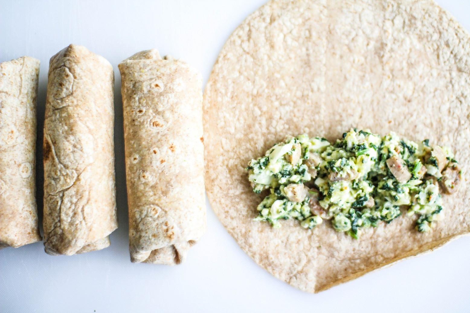 Healthy Breakfast Burrito  Healthy Breakfast Burritos Recipe Righter