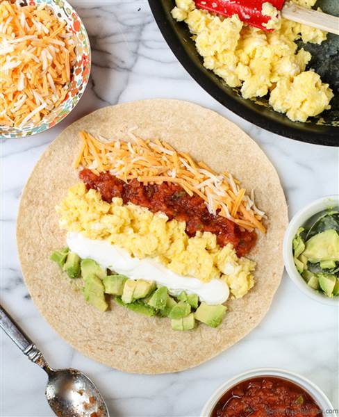 Healthy Breakfast Burrito  Healthy breakfast recipes 6 easy ideas to start your