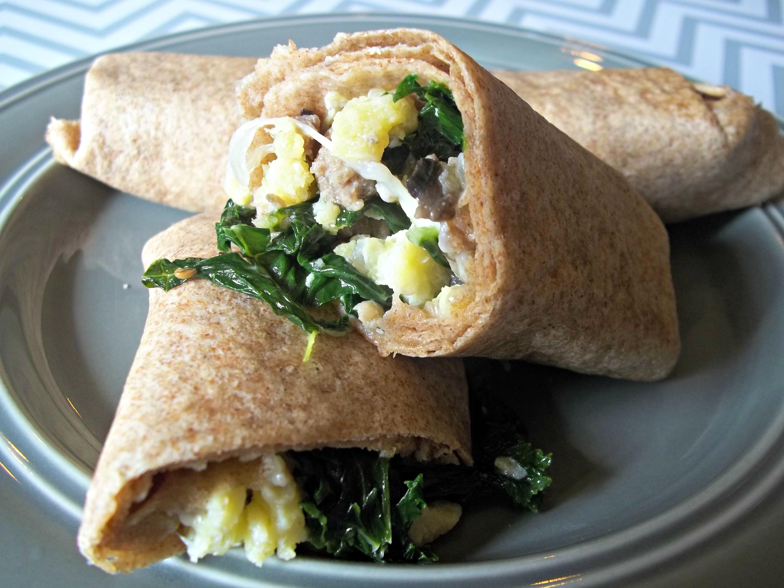 Healthy Breakfast Burrito  Healthy Freezer Breakfast Burritos Mrs Bishop