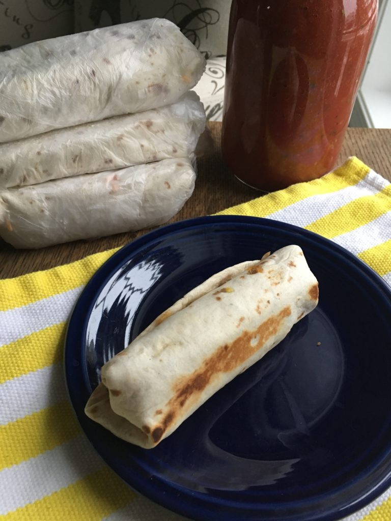 Healthy Breakfast Burrito Freezer  Healthy Freezer Breakfast Burritos