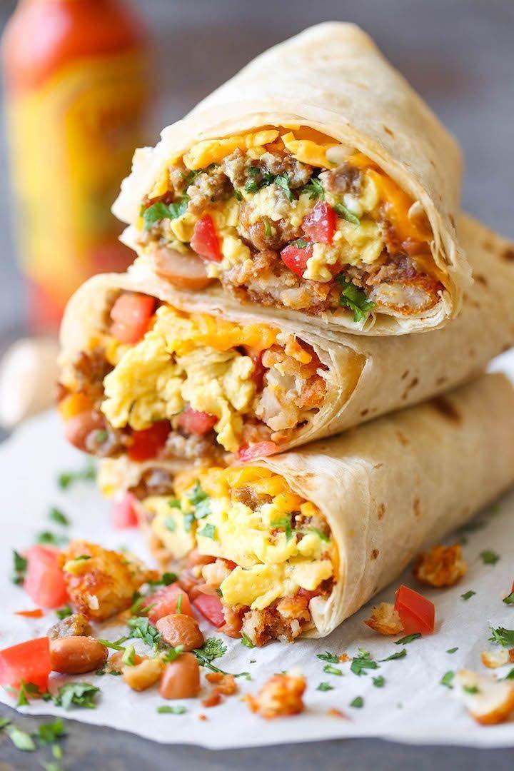 Healthy Breakfast Burrito Meal Prep  17 best ideas about Healthy Breakfast Burritos on