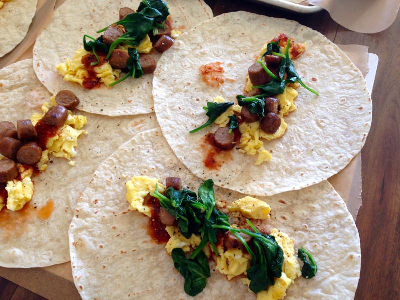 Healthy Breakfast Burrito Meal Prep  breakfast burritos
