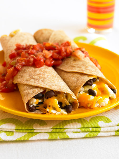 Healthy Breakfast Burrito Recipe  My athlete mind