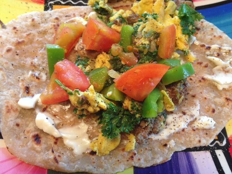 Healthy Breakfast Burrito Recipe  Healthy Breakfast Burrito Recipe With Homemade Tortillas