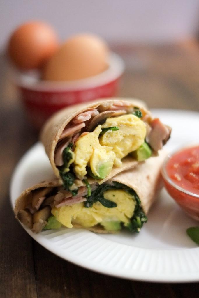 Healthy Breakfast Burrito Recipe  School Morning Breakfast Burrito Recipe