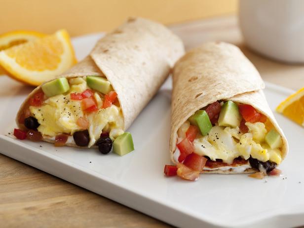 Healthy Breakfast Burrito  The Domestic Curator The Go Breakfast Burrito