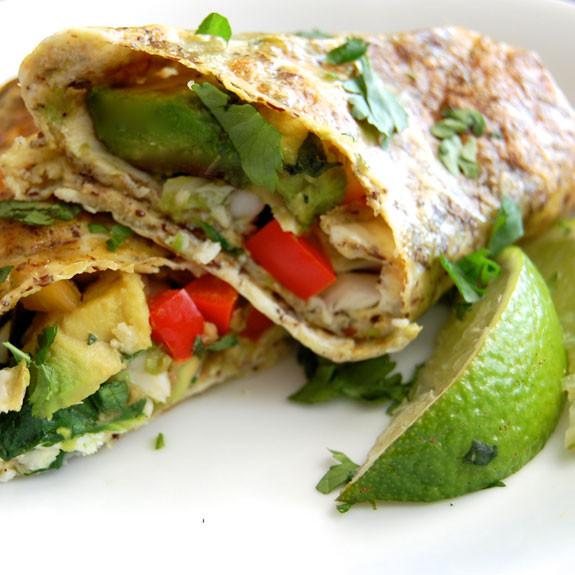 Healthy Breakfast Burrito  Paleo Breakfast Burritos Low Carb