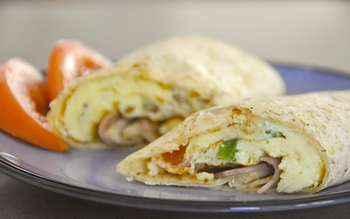Healthy Breakfast Burritos  Healthy Breakfast Burrito Living Green with Baby