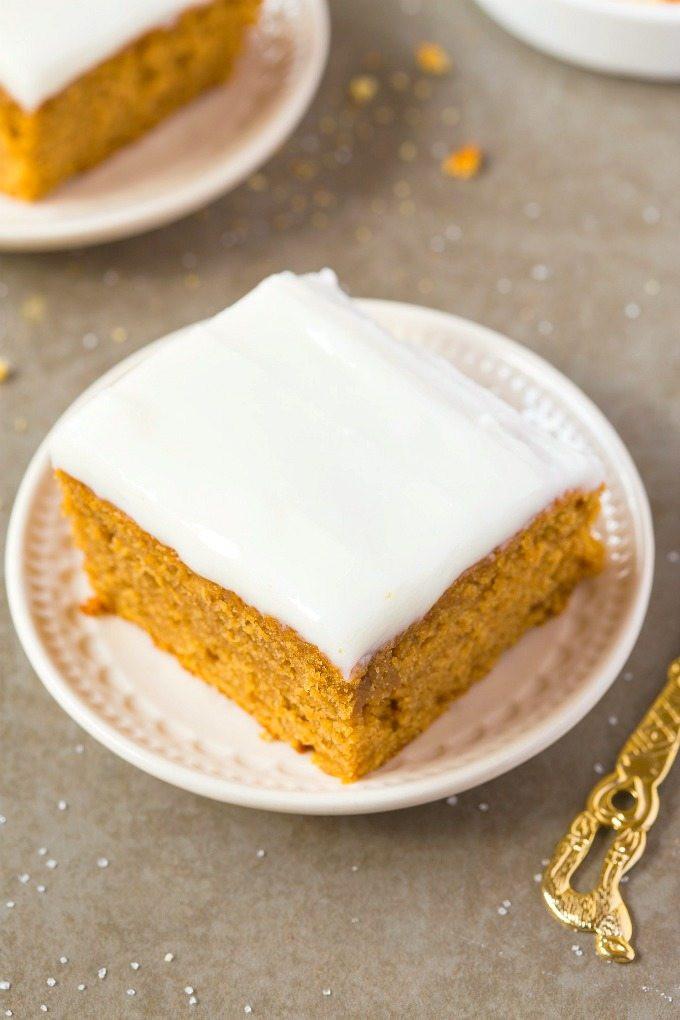 Healthy Breakfast Cake  Healthy Flourless Pumpkin Breakfast Cake