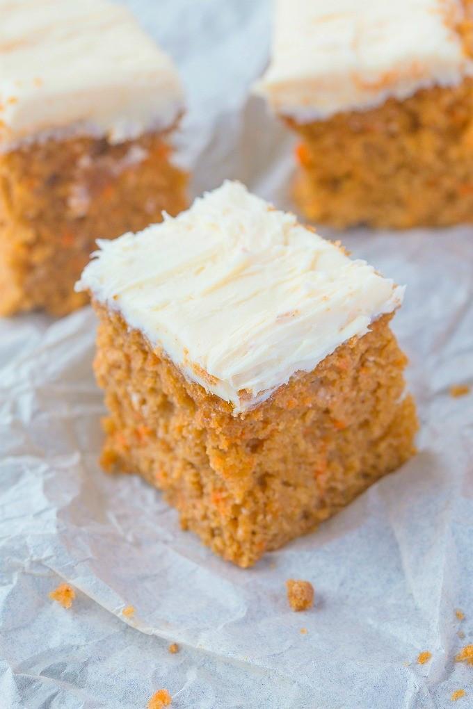 Healthy Breakfast Cake  Healthy Flourless Carrot Breakfast Cake