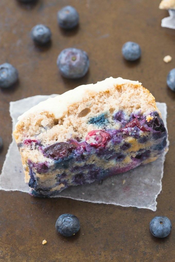 Healthy Breakfast Cake  Healthy Flourless Blueberry Breakfast Cake