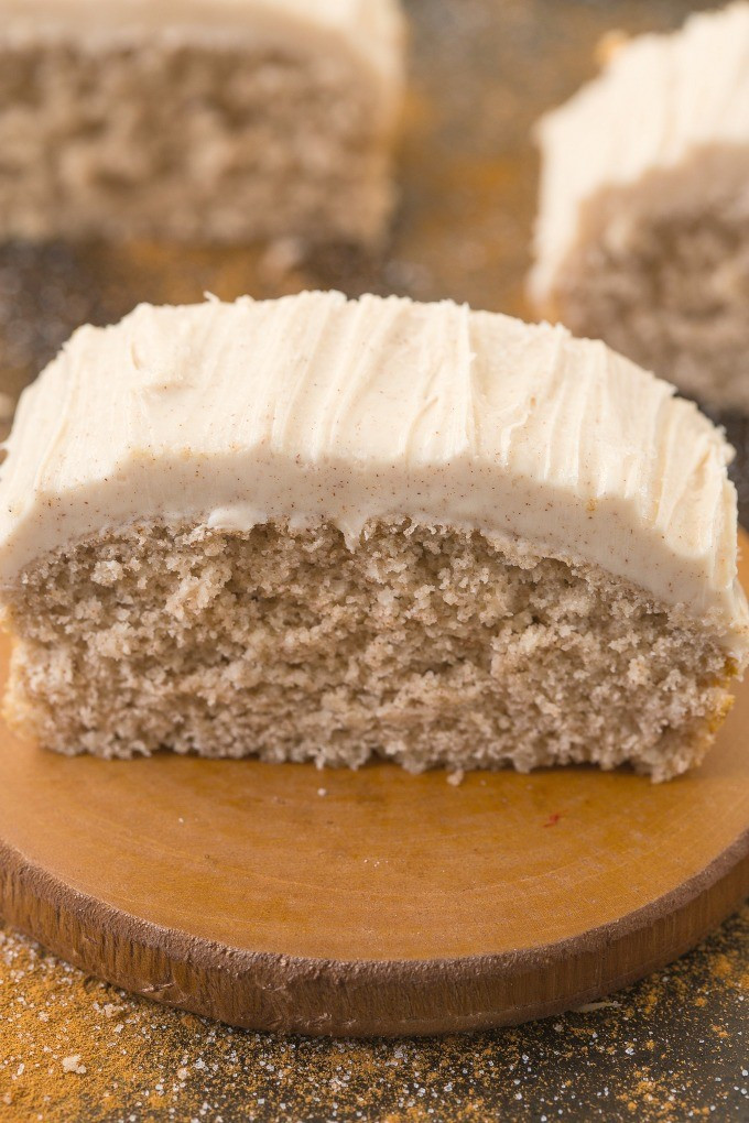 Healthy Breakfast Cake  Healthy Flourless Cinnamon Bun Breakfast Cake