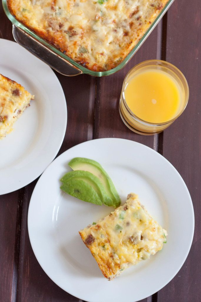 Healthy Breakfast Carbs  Low Carb Breakfast Bake Goo Godmother A Recipe and
