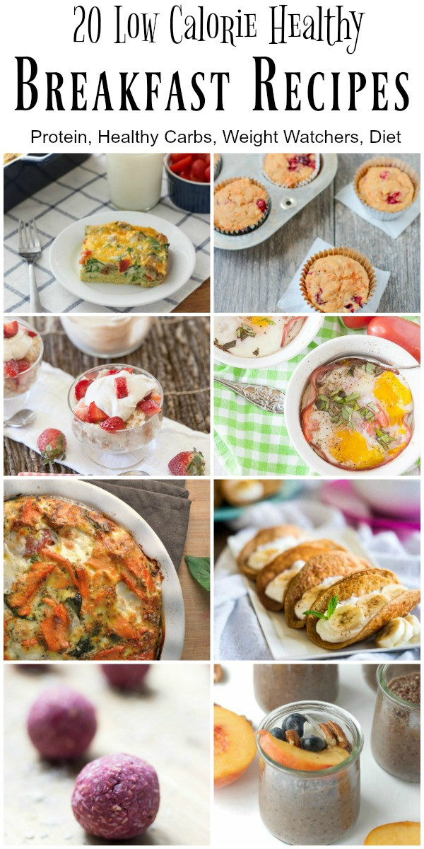 Healthy Breakfast Carbs  20 Low Calorie and Healthy Breakfast Recipes Food Done Light