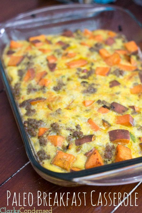 Healthy Breakfast Casserole With Sausage  Best 25 Healthy breakfast casserole ideas on Pinterest