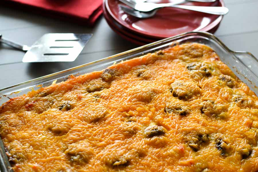 Healthy Breakfast Casserole With Sausage  Healthy Make Ahead Sausage and Egg Breakfast Casserole