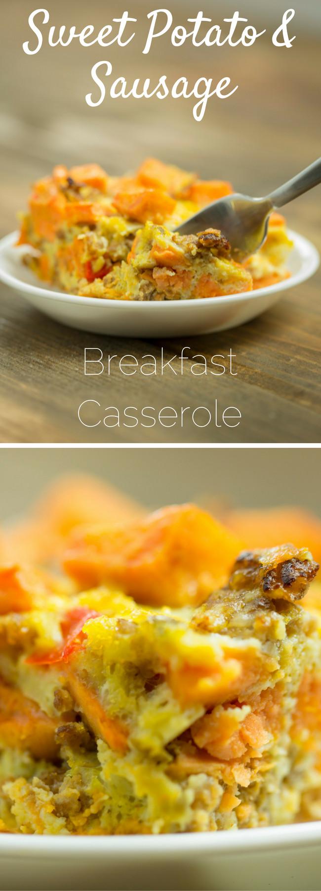 Healthy Breakfast Casserole With Sausage  Paleo Breakfast Casserole