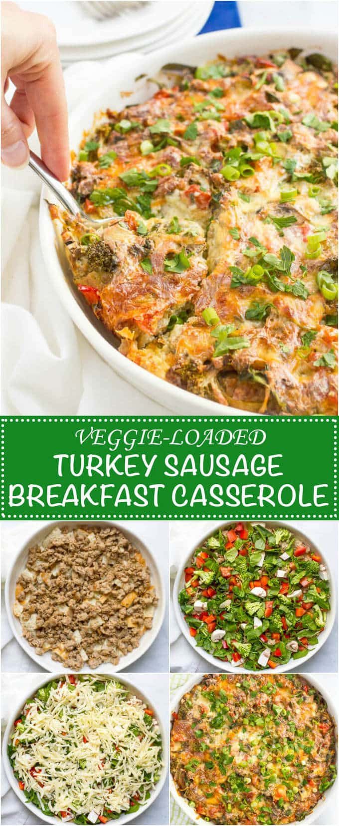 Healthy Breakfast Casserole With Sausage  Make ahead healthy sausage breakfast casserole Family