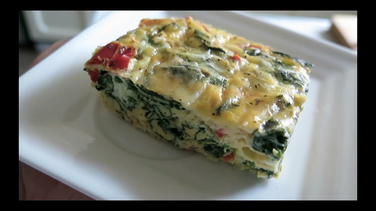 Healthy Breakfast Casserole With Spinach  Easy and Healthy Spinach Egg Casserole
