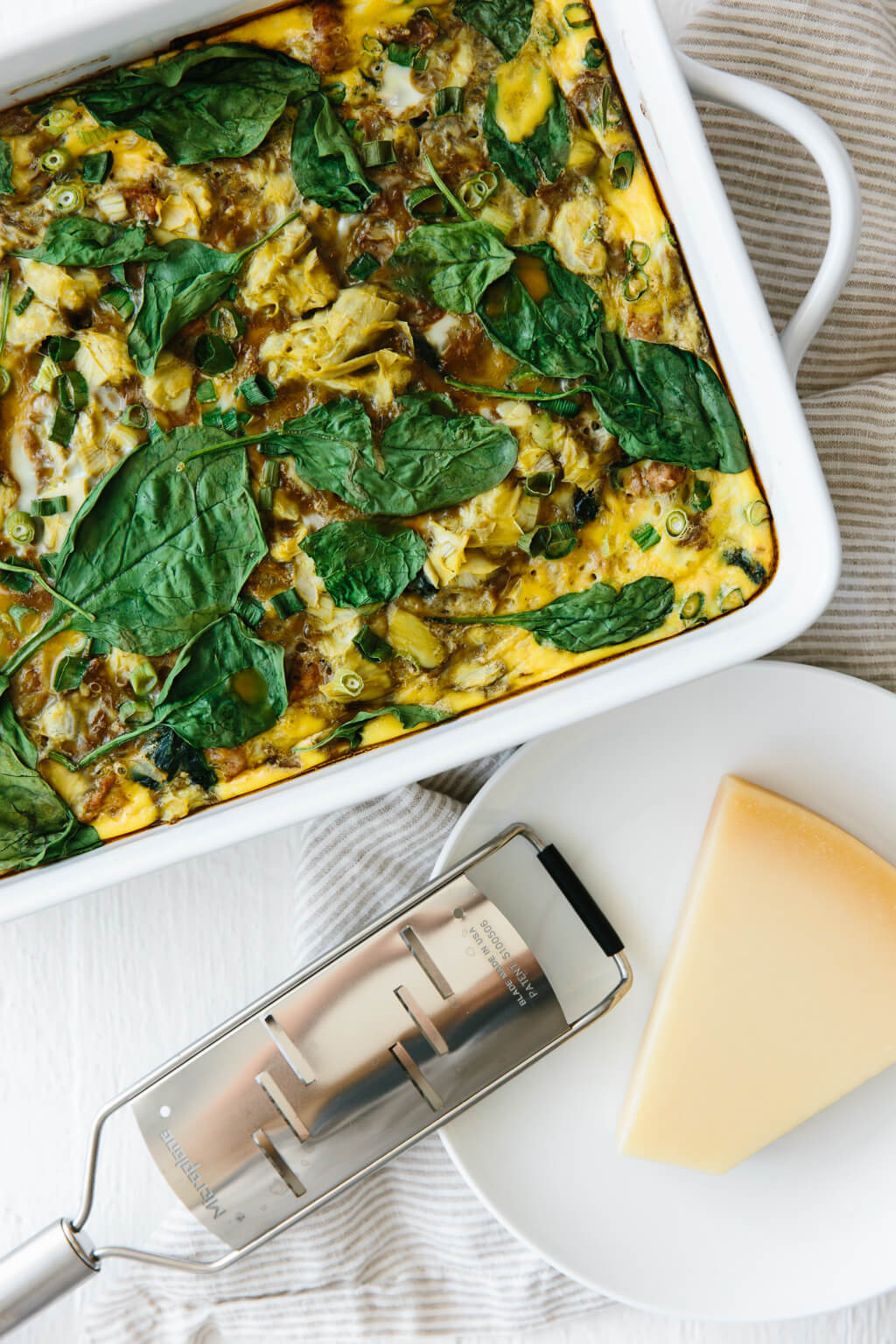 Healthy Breakfast Casserole With Spinach  Healthy Breakfast Casserole gluten free paleo
