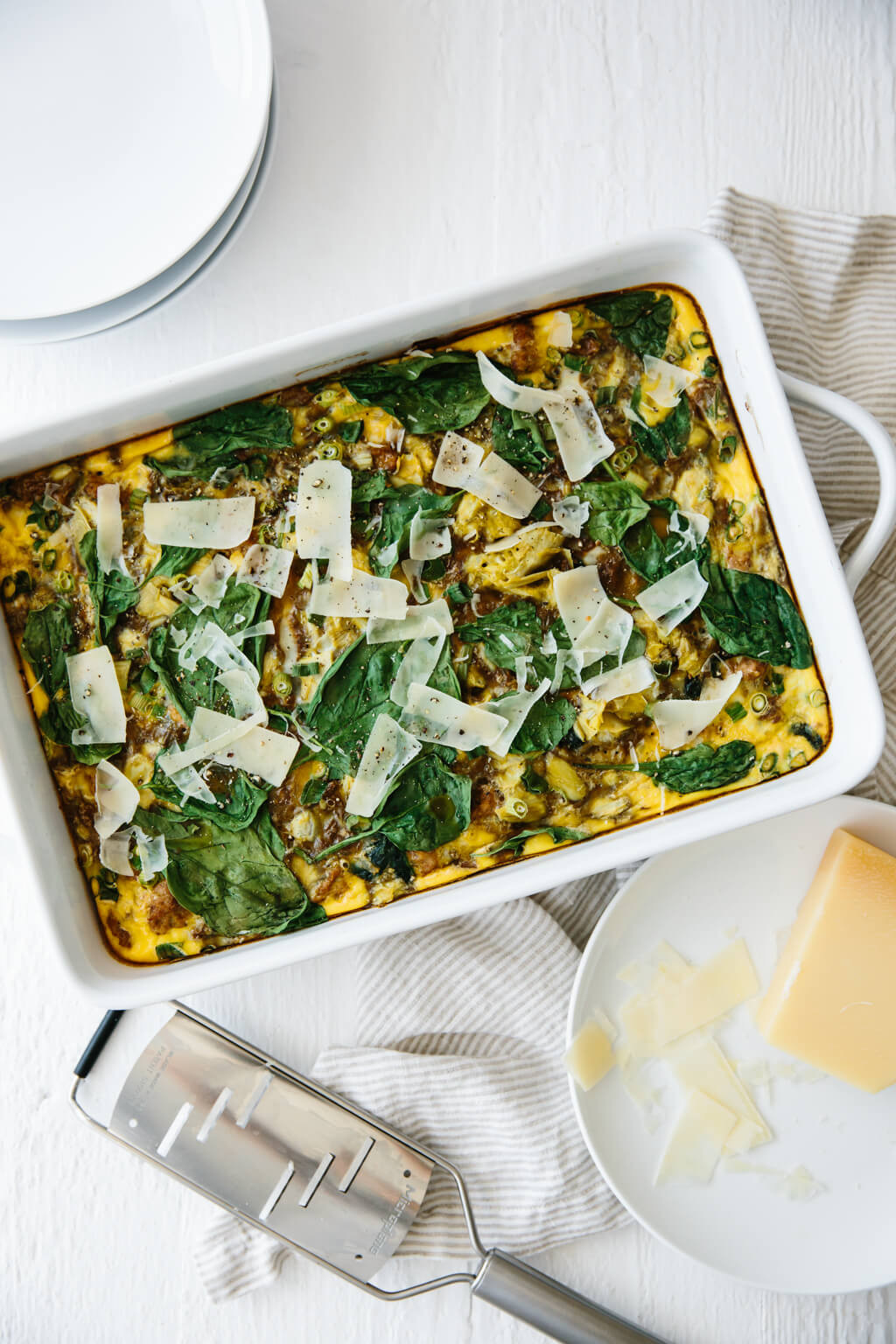 Healthy Breakfast Casserole With Spinach  healthy breakfast casserole with spinach