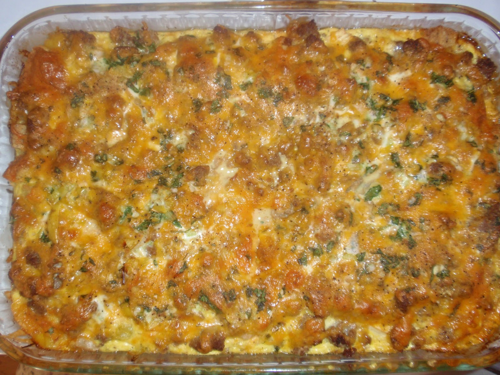 Healthy Breakfast Casserole With Spinach  The Kitchen Chic Healthy ish Breakfast Casserole
