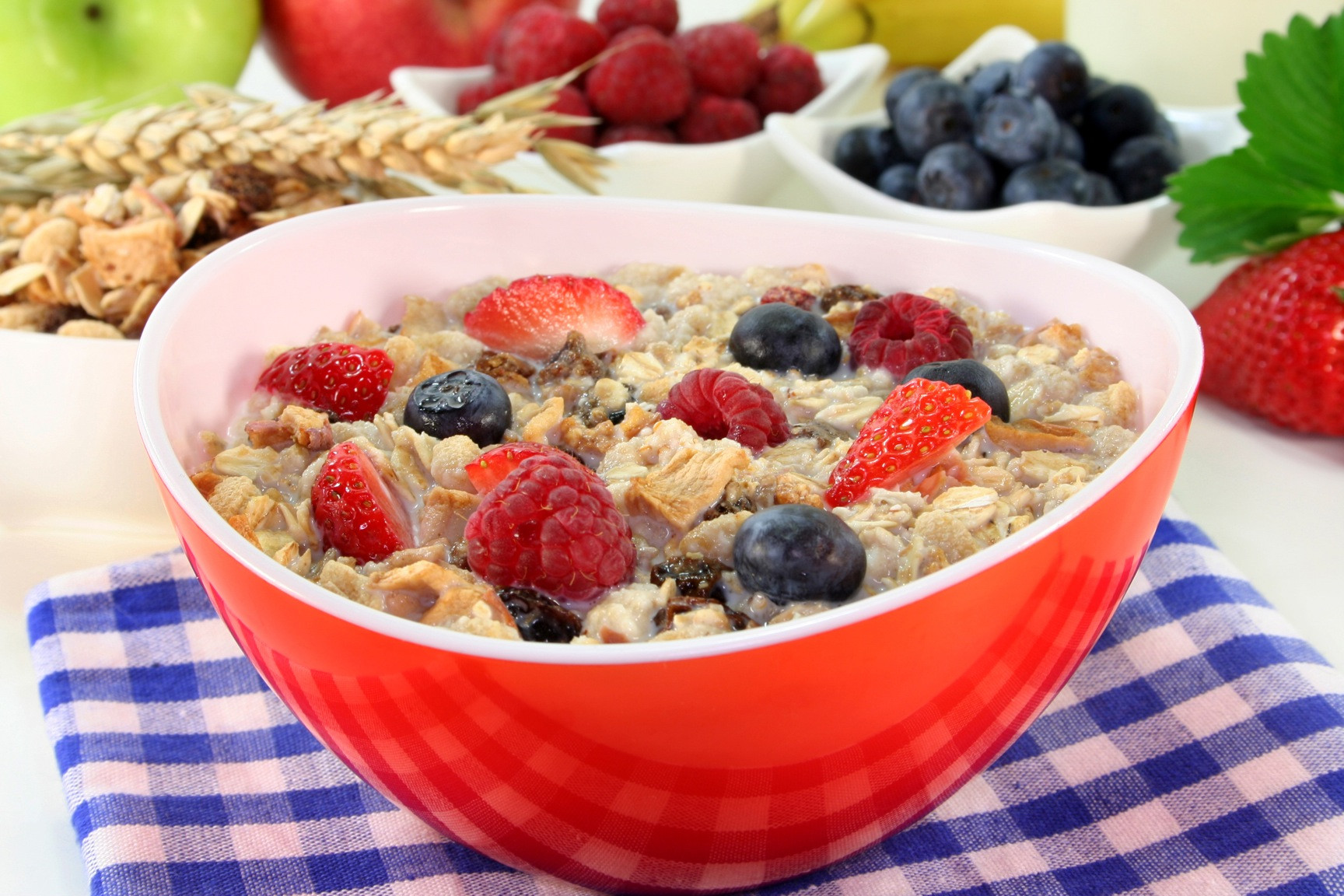 Healthy Breakfast Cereal  NutritionRx Five Nutrition Tips to Increase Energy