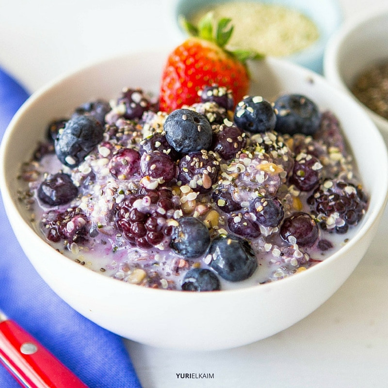 Healthy Breakfast Cereal  Fiber Starter Breakfast Bowl