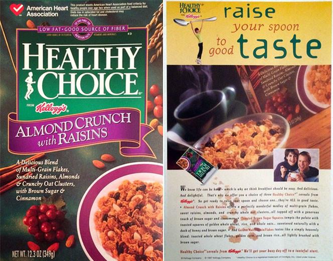 Healthy Breakfast Choice  Healthy Choice Cereal