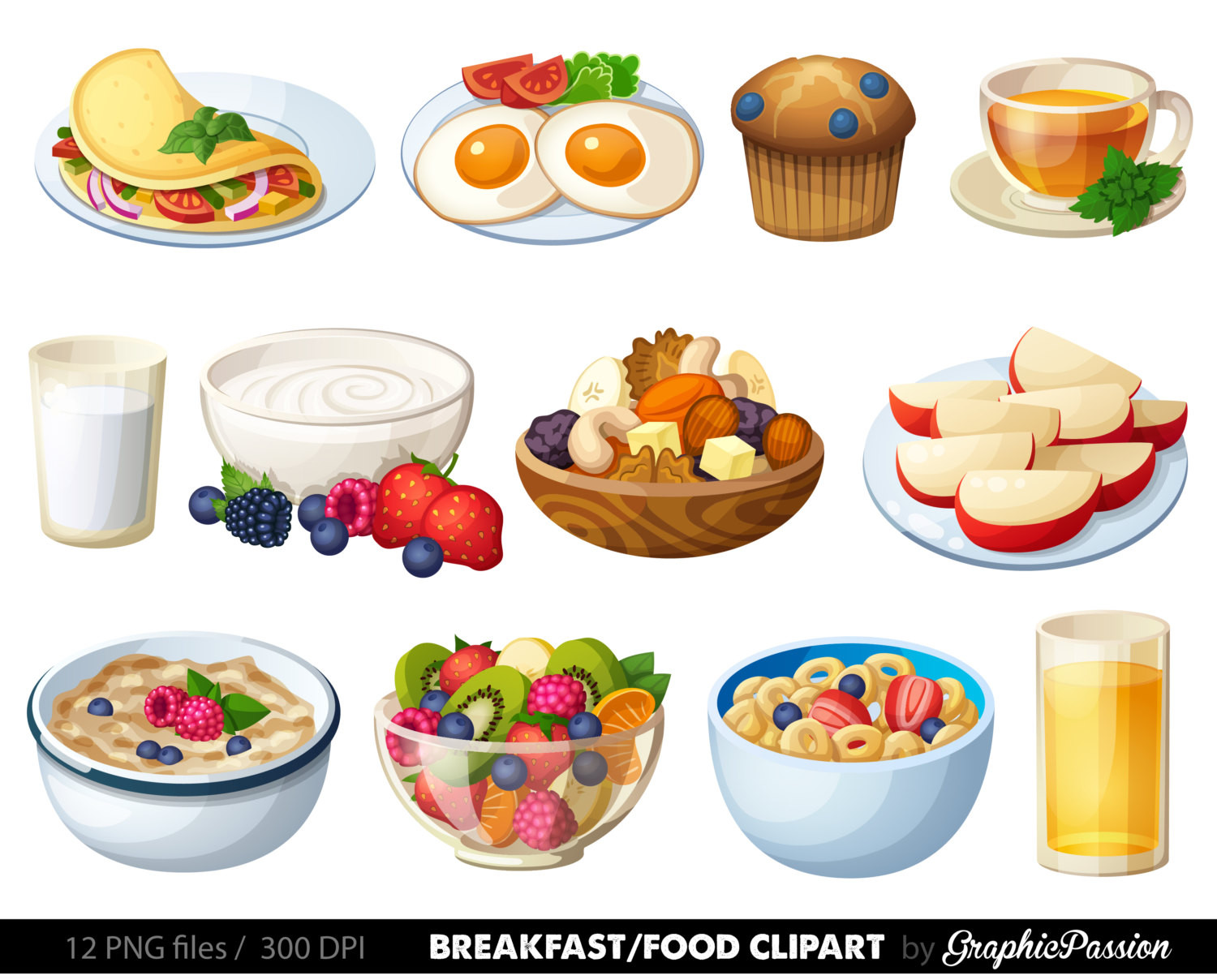 Healthy Breakfast Clipart  Meal clipart breakfast Pencil and in color meal clipart