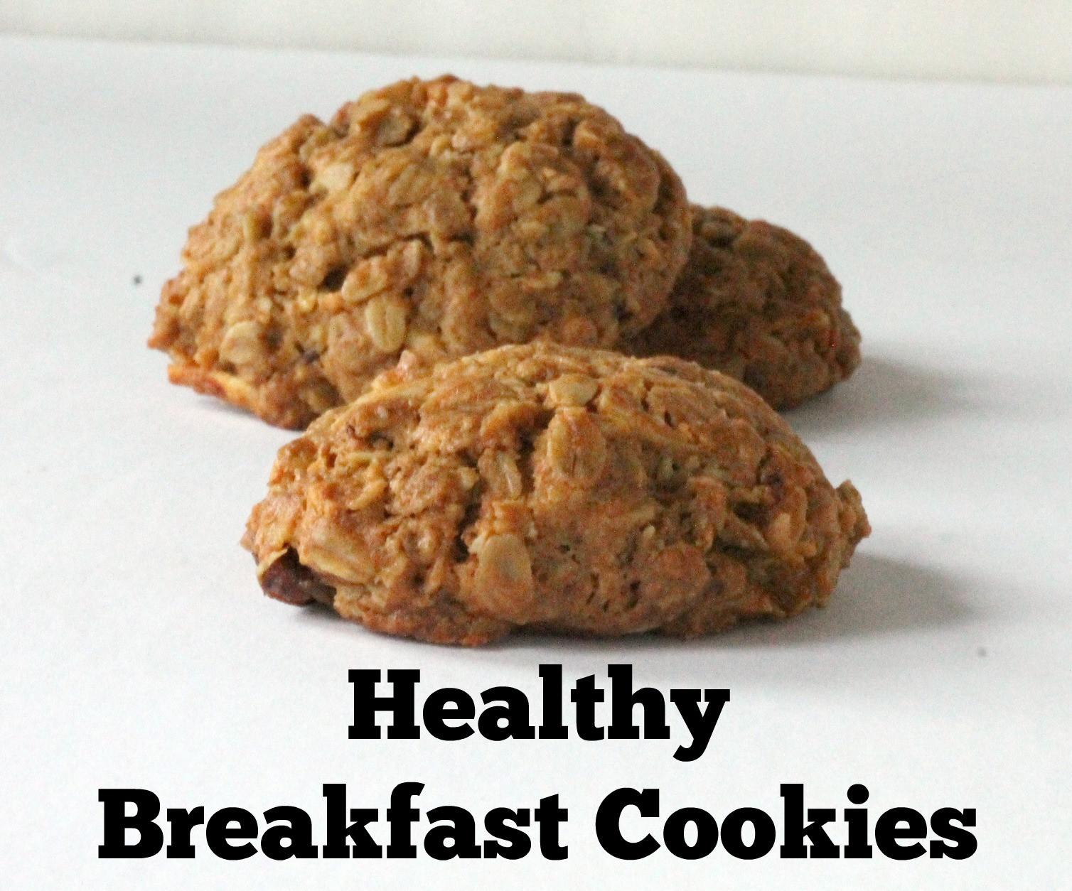 Healthy Breakfast Cookie  Healthy Breakfast Cookies — Cooking By LaptopCooking By Laptop