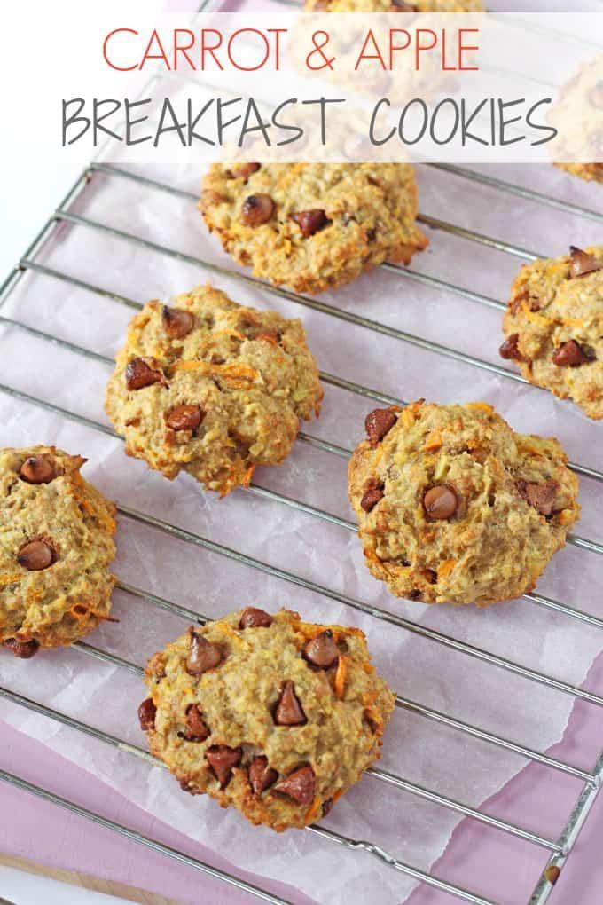 Healthy Breakfast Cookie Recipes  Carrot Apple & Oat Breakfast Cookies My Fussy Eater