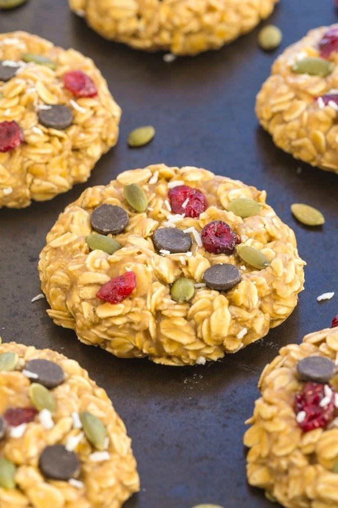Healthy Breakfast Cookie Recipes  Healthy No Bake Superfoods Breakfast Cookies