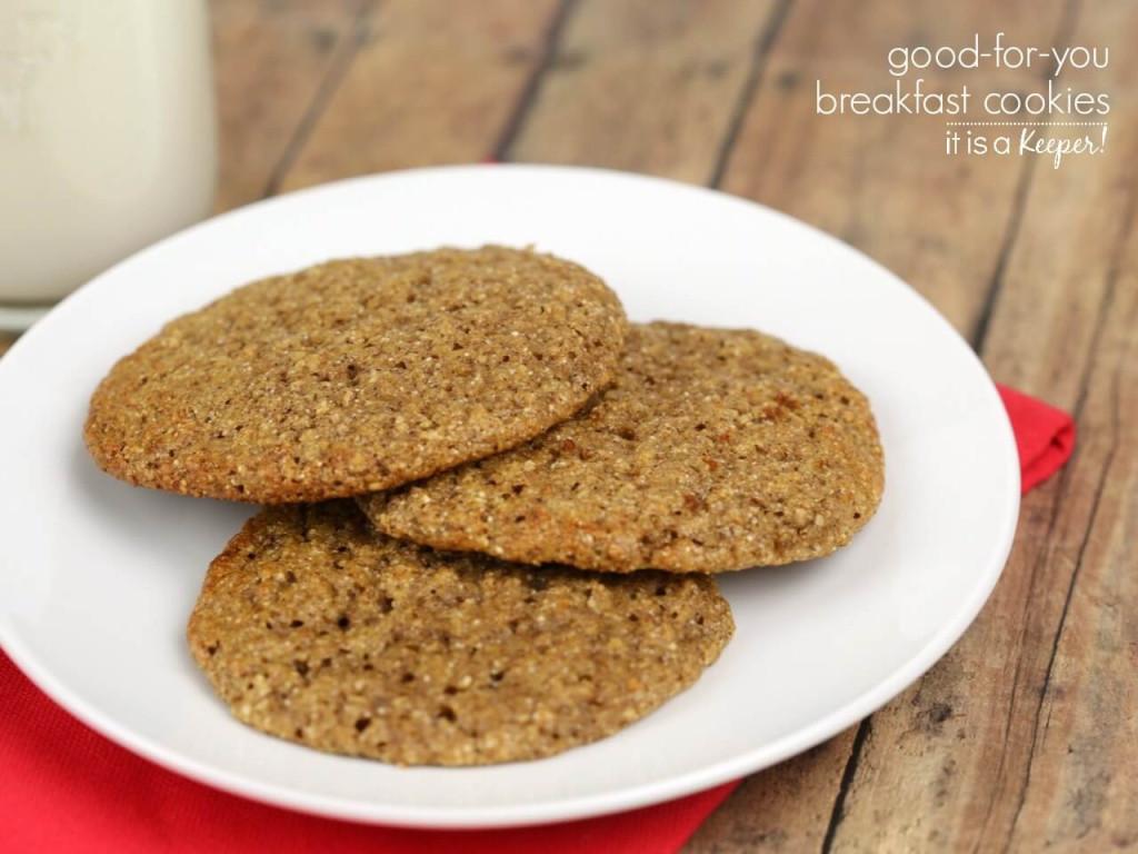 Healthy Breakfast Cookie Recipes  Easy Breakfast Cookies