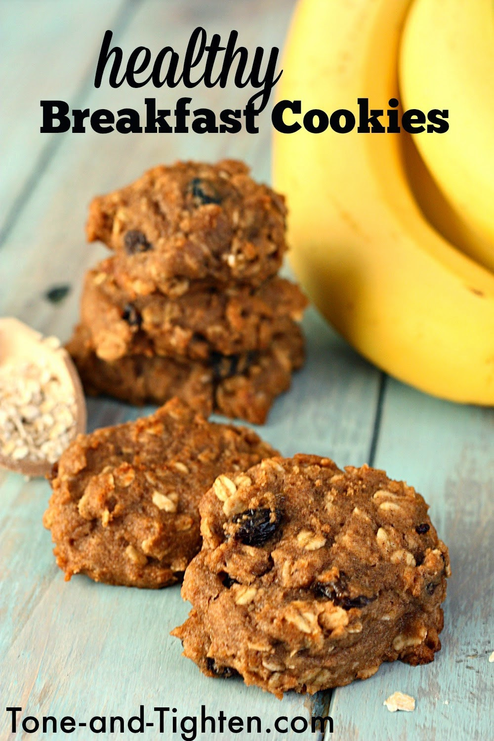 Healthy Breakfast Cookie Recipes  Weight Watchers Loaded Ve able Soup Recipe full of
