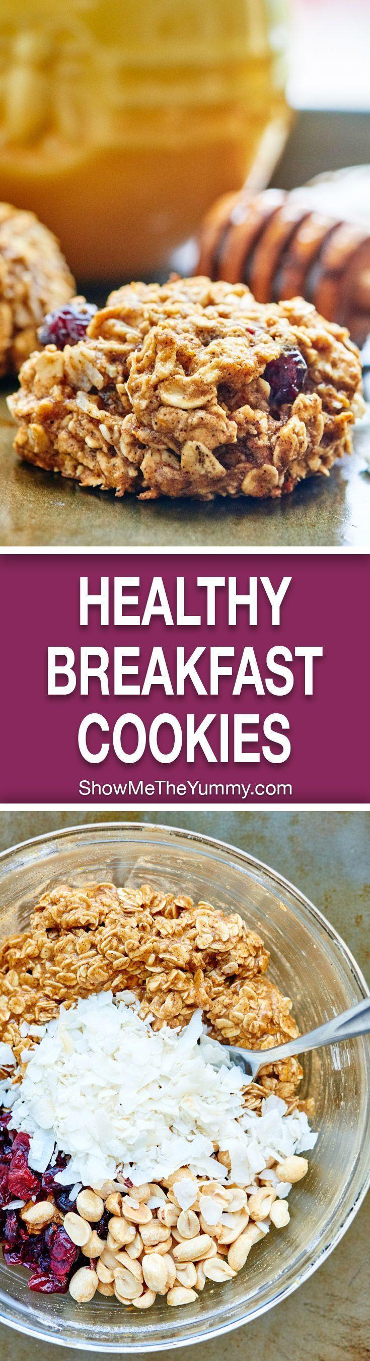 Healthy Breakfast Cookie Recipes  Healthy Breakfast Cookies Recipe