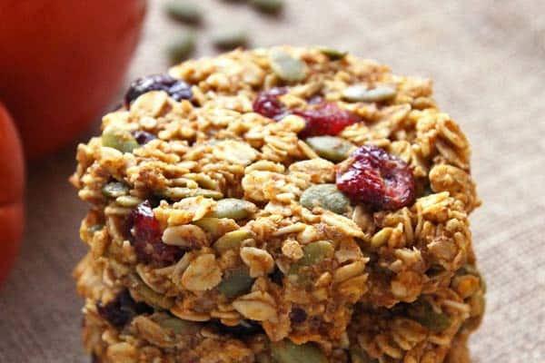 Healthy Breakfast Cookie  Pumpkin Breakfast Cookies VIDEO gluten free clean