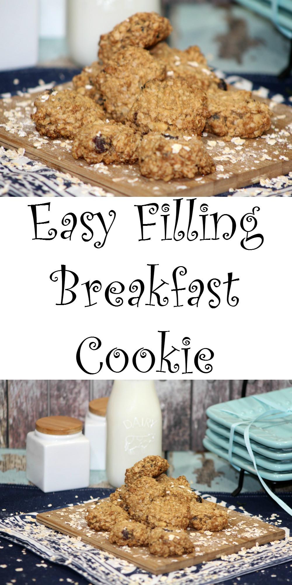Healthy Breakfast Cookie  Easy Filling Healthy Breakfast Cookie Teaspoon Goodness