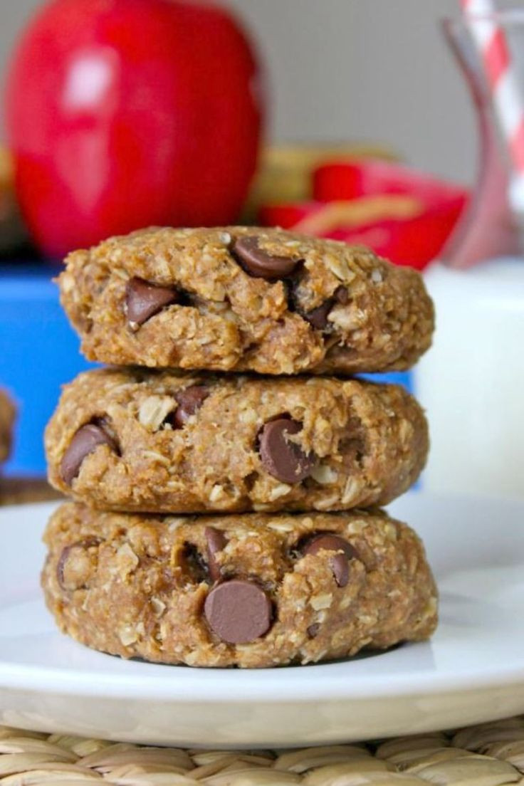 Healthy Breakfast Cookies  32 best images about Fatty Liver Diet on Pinterest