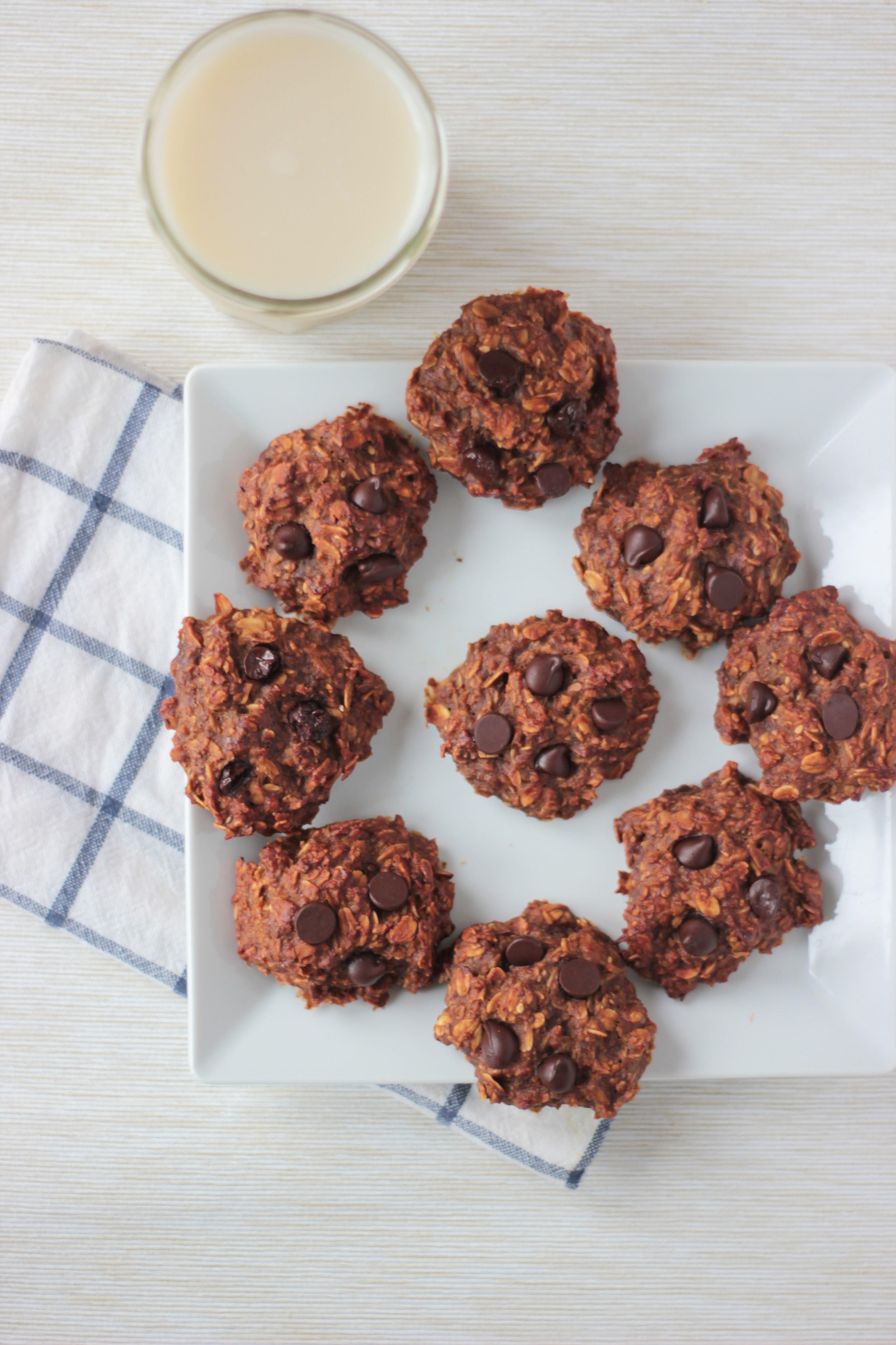 Healthy Breakfast Cookies  Healthy e Bowl Breakfast Cookies the vegan ginger